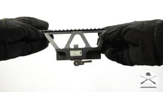 Обзор бокового кронштейна с планкой Пикатини от Military Equipment