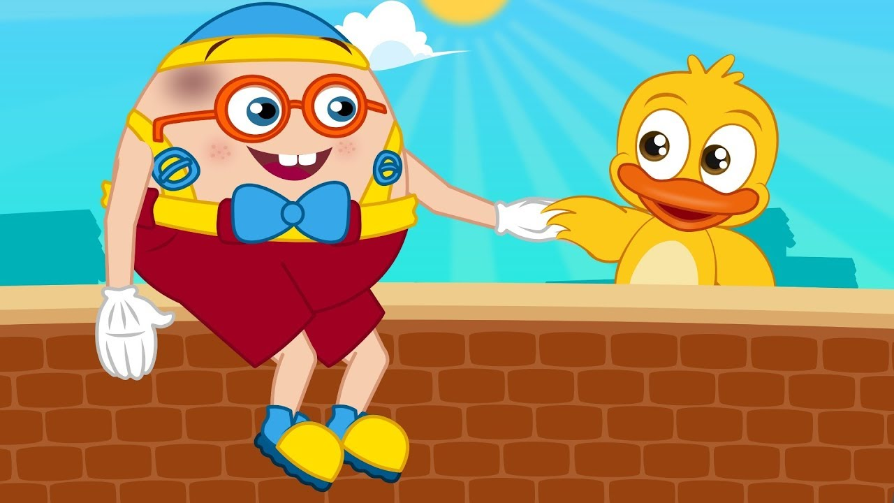 Humpty Dumpty sat on a wall | Nursery Rhymes & Kids Songs for Toddlers