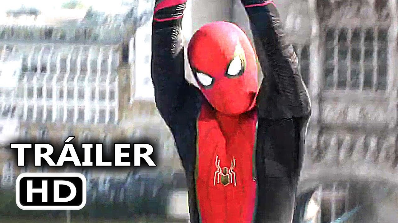 SPIDER-MAN LEJOS DE CASA Tráiler Español Latino LEGENDADO (2019)