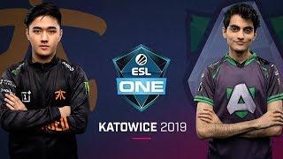 Dota 2 - fnatic vs. Alliance - Game 2 - Group B Ro2 - ESL One Katowice 2019