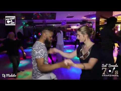 Onassaka & Justine  social dancing @ Salsounds 70S