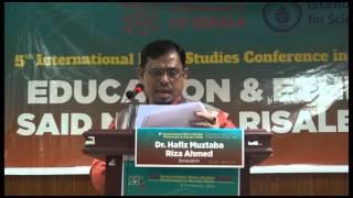 Gambar cover Said Nursi and his Thinking: a Short Study Dr. Hafiz Muztaba Riza Ahmed,