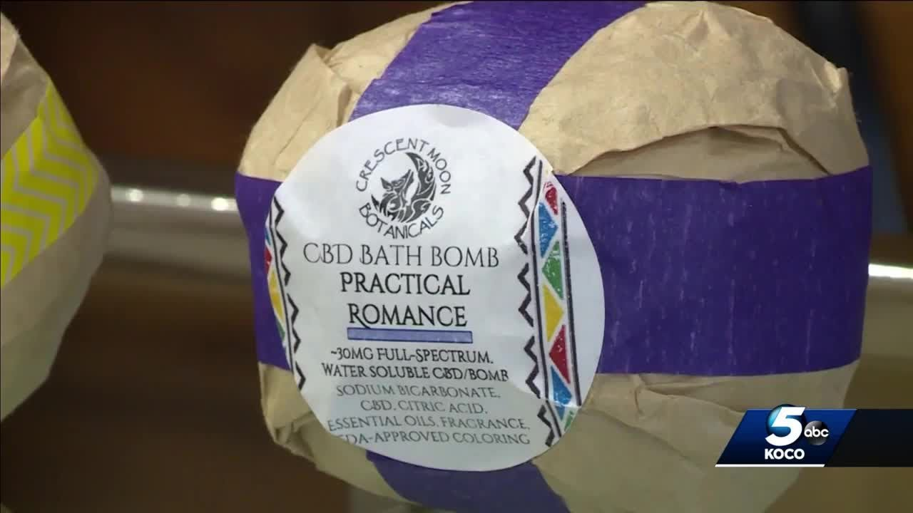 CBD bath bombs add extra punch to tub, expert says