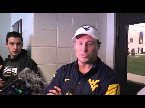 Dana Holgorsen Spring Football Update
