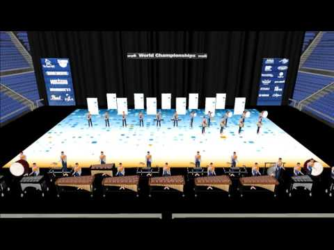 Athens Drive HS 2017 - Pt 1 - Indoor Percussion Drill