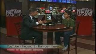 CNN Newsmaker interview-Ballroom Champ Elijah Clayton