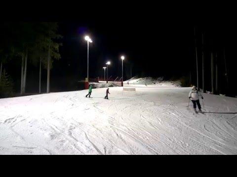 Nina. night snowboarding. alpe cermis cavalese