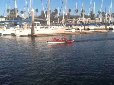 Cal Kayak meets Lightning Marine Drive Inc.