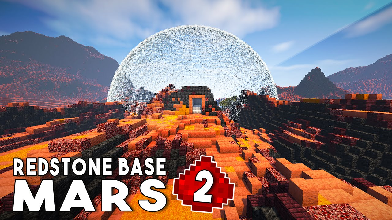 Let's Build: REDSTONE MARS BASE EP2 - Redstone Airlock ...