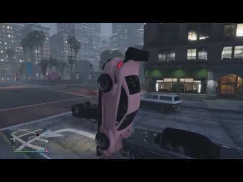 Grand Theft Auto V The car came out of nowhere