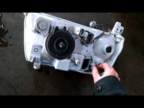Headlight assembly replacement 2007 Suzuki Grand Vitara. Install or remove and replace How to change