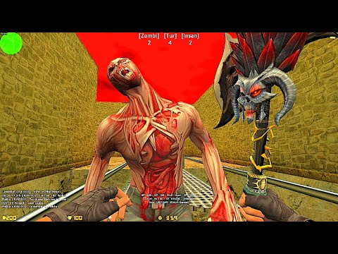 Counter-Strike: Zombie Escape Mod - ze_RockEscape_Boss   Dark Professional
