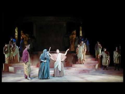 Oedipus - starring Kevin Willmott - CMSU theatre
