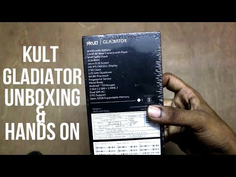 Kult Gladiator Unboxing and Hands On Review | HINDI |