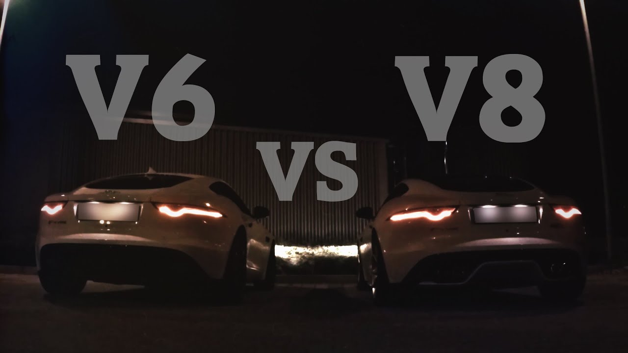 Jaguar F Type S >> Jaguar F-Type V8 R VS V6 Rev Battle Exhaust Sound + Review Teaser - YouTube