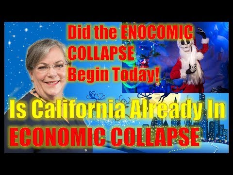 LYNETTE ZANG: CALIFORNIA Already IN CRASH - Did the ENOCOMIC COLLAPSE Begin Today!