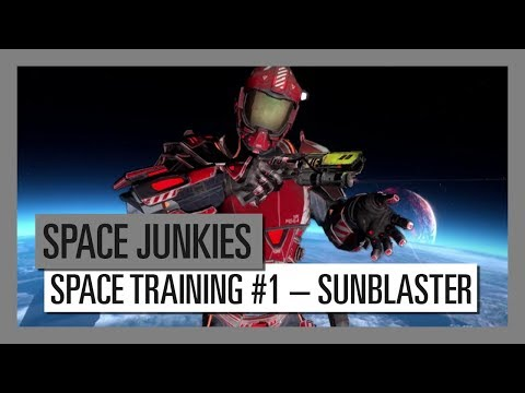 Space Junkies: Space Training #1 – Sunblaster Weapon