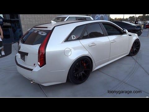 Cadillac D3 Battle Wagon Cts V Station Wagon Youtube