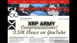 XRP BEAR RUN STREAM. XRP 4 for a Dollar .. 3.5 Million Views XRP ARMY UNSTOPPABLE