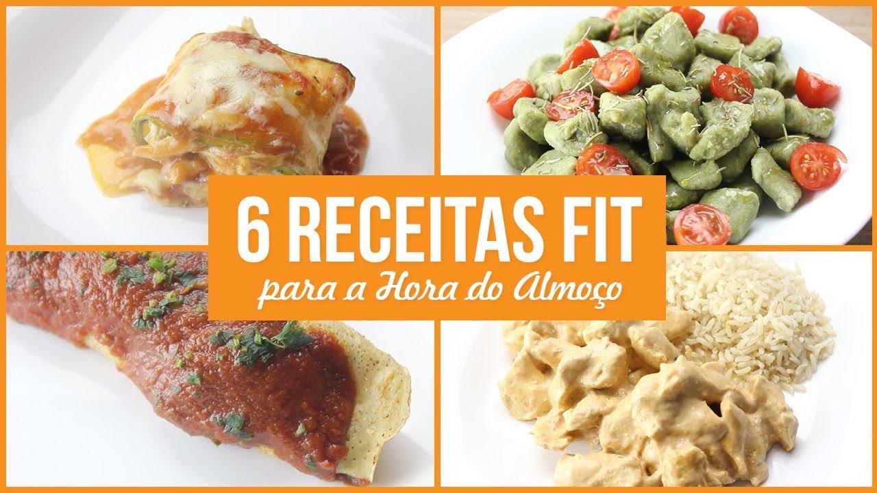 6 Receitas Fit Fáceis para a Hora do Almoço