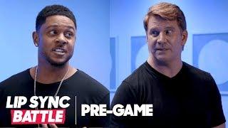 Ray Donovan Stars Pooch Hall & Dash Mihok Play 2 Truths 1 Lie | Lip Sync Battle Pregame