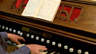 Stainer: God So Loved The World - Lindholm Harmonium Reed Pump Organ