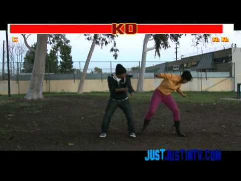 Chris Brown vs. Rihanna (Official Video) - Street Fighter : @JustinHires