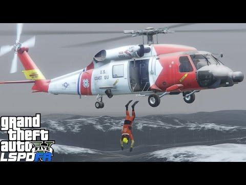 GTA 5 LSPDFR USCG Coastal Callouts | Live Streaming New Updates | United States Coast Guard Mod