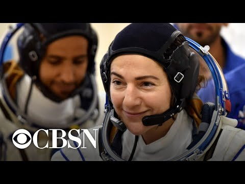 NASA unveils new spacesuit ahead of first all-female spacewalk