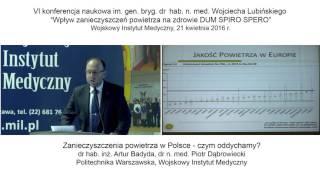 Zanieczyszczenia powietrza w Polsce - czym oddychamy?