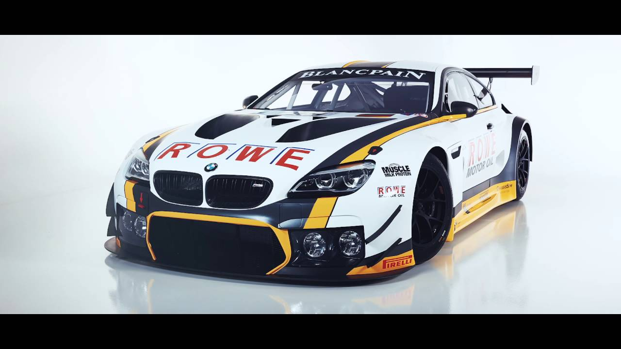 ROWE RACING BMW M6 GT3 Spot