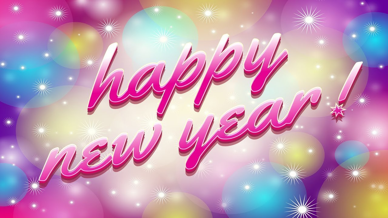 Happy New Year 2018 Whatsapp Video Download Wishes Images
