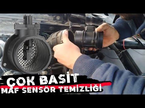 MAF Sensörü TEMİZLEME (AKIŞMETRE) TEMİZLİĞİ NASIL YAPILIR