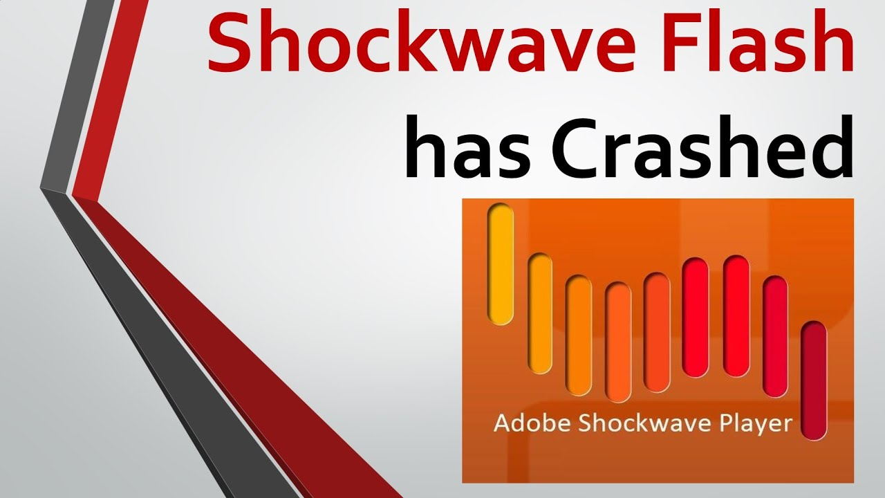 What Is Wrong With Shockwave Flash