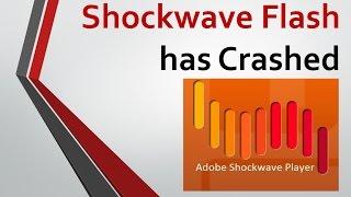 видео Сбой Shockwave Flash. Что делать?