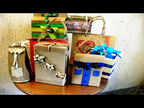 DIY-MYO : Make Your Own gift box and paper bag
