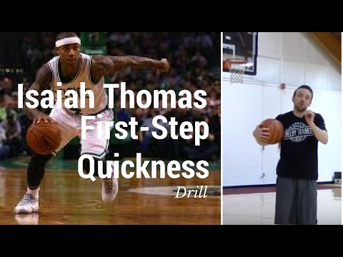 First Step Quickness - Quickness Drills For Basketball - Isaiah Thomas Drill