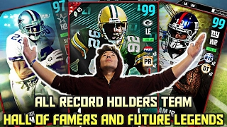THE RECORD HOLDERS TEAM! HALL OF FAMERS & FUT...