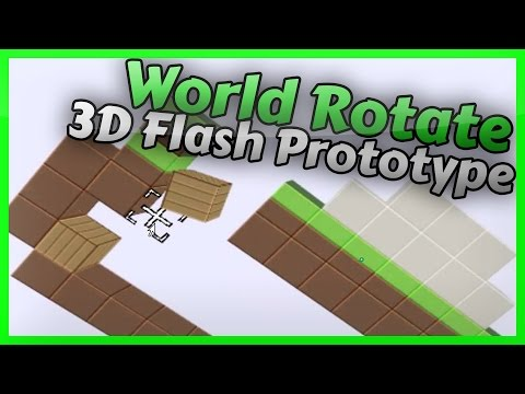 World Rotate 3D Flash Game
