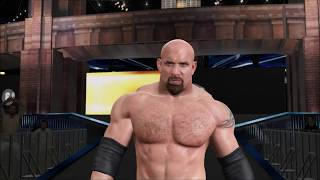 WWE 2K17 - SWE Top Matches - Goldberg Vs Steve Austin