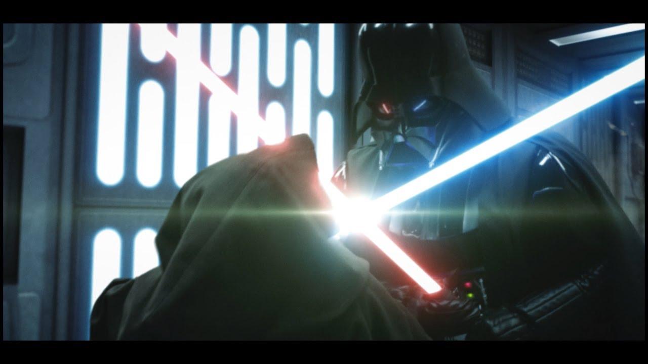 Star Wars Vader And Obi Wan Duel Gets Modern Update Nerdist