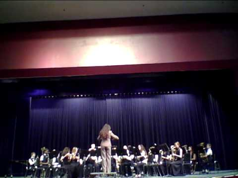 Key Largo Middle School Band plays Canticle of the Sun