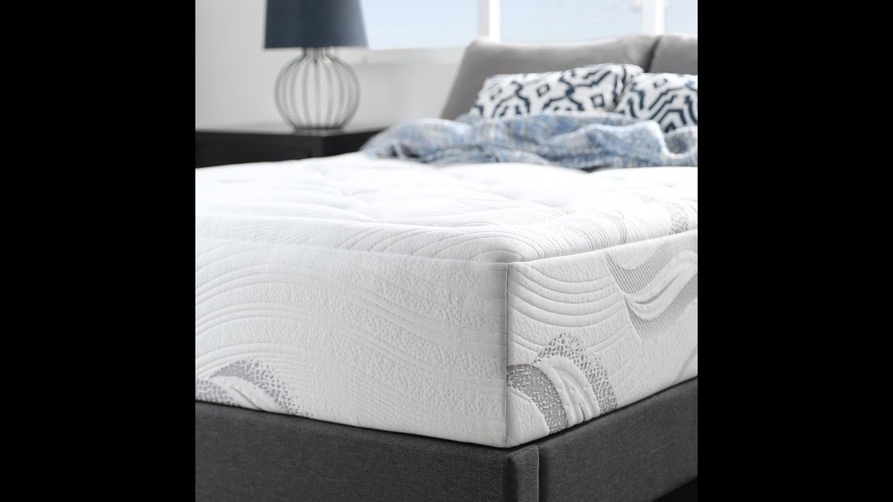 reviews zinus memory foam 12 inch premium ultra plush cloud like mattress full youtube. Black Bedroom Furniture Sets. Home Design Ideas