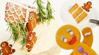 Имбирный торт. Самый вкусный новогодний торт
