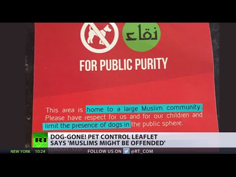 'Impure to Islam': Leaflets handed to Manchester residents call for dog ban