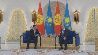 О чем договорились президенты Казахстана и Кыргызстана
