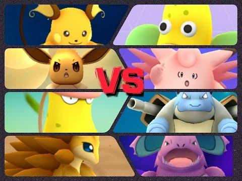 Pokémon GO Gym Battles LEVEL 9 & 4 Gym Victreebell Eevee Sandslash Blastoise Raichu Dragonair & more