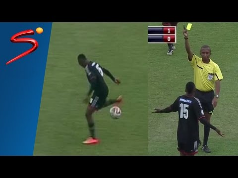 Controversy: Masuku yellow card for showboating