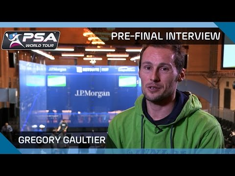'About last night...' -  Gregory Gaultier Pre-Final Interview