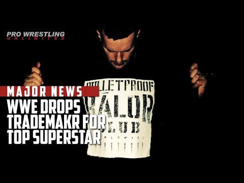 Thumbnail: MAJOR NEWS: WWE Drops Trademark For Top Superstar